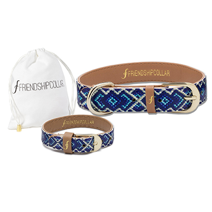 Friendship Collar & Matching Bracelet 2pc Set (Click for Larger Image)