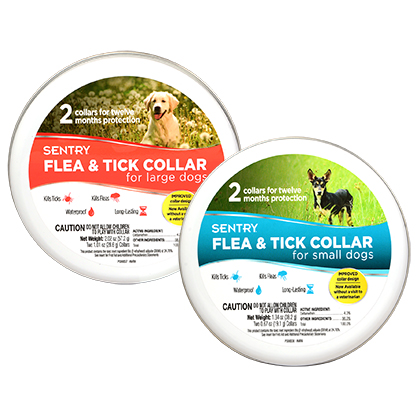 Sentry Flea & Tick Collar (Click for Larger Image)