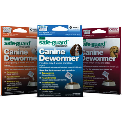 Safe-Guard Canine Dewormer (Click for Larger Image)