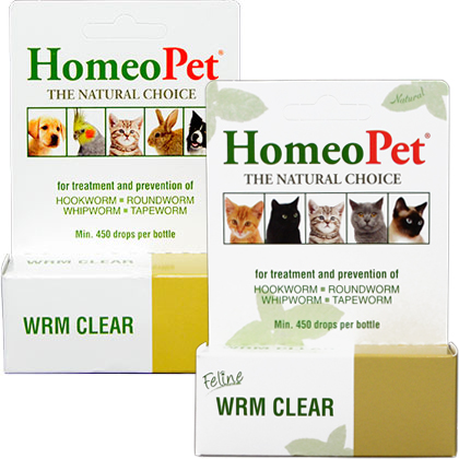 HomeoPet Wrm Clear (Click for Larger Image)