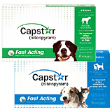Capstar Flea Treatment Tablets (Click for Larger Image)