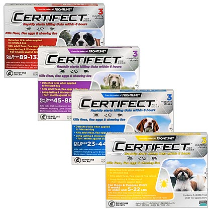 Certifect for Dogs  (Click for Larger Image)