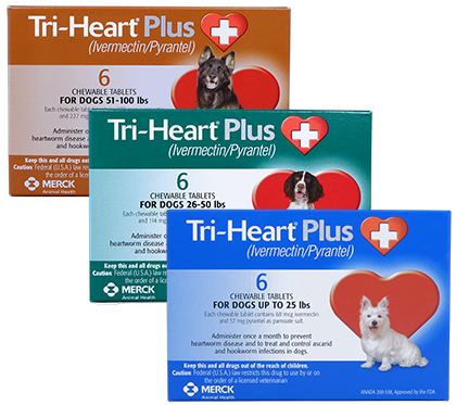Tri-Heart Plus - Generic to Heartgard Plus (Click for Larger Image)