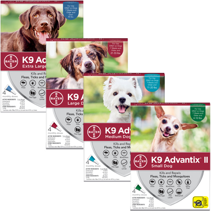 K9 Advantix II  (Click for Larger Image)