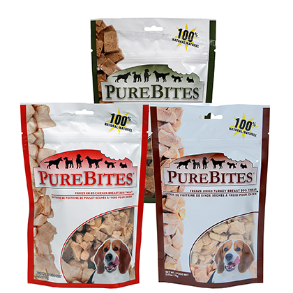 PureBites Freeze-Dried Dog Treats (Click for Larger Image)