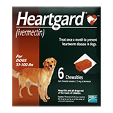 Dog Heartgard Chewables