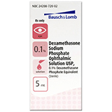 Dexamethasone Sodium Phosphate Ophthalmic Solution (Click for Larger Image)