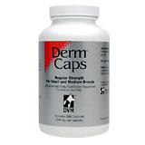 Derm Caps For Small & Medium Breeds 250ct Btl