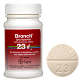 Find Droncit 23 Feline Tab (sold per tablet) at PetMeds