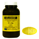 Find Soloxine 0.1 mg Tab  at PetMeds