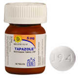Find Tapazole 5 mg Tablet at PetMeds