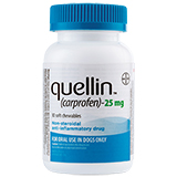 Buy Generic quellin carprofen - generic to Rimadyl 25 mg chewables 30 ct at PetMeds