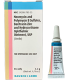 B.N.P. with Hydrocortisone Triple Antibiotic Ophthalmic Ointment