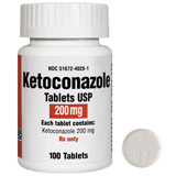 Ketoconazole 200mg Tablet (sold per tablet)