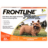 Find Frontline Plus 3pk Dogs 5-22 lbs at PetMeds