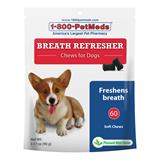 Breath Refresher Chews for Dogs 60 Ct