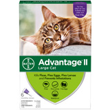 Advantage 6pk Cat Purple 10 Lbs And Over