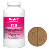Baytril 136 Mg Taste Tabs (sold per tablet)