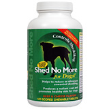 Find Shed No More Chewable Tablets For Dogs 120 Ct at PetMeds