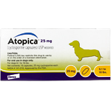 Find Atopica For Dogs 25 mg 30 Capsule Pk at PetMeds
