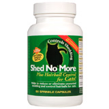 Find Shed No More Plus Hairball Control For Cats 90 Sprinkle Capsules at PetMeds