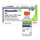 Humulin N Insulin (Click for Larger Image)