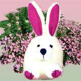 Booda Squatters Bunny Dog Toy