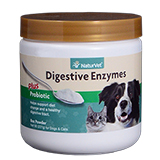 NaturVet Digestive Enzymes Plus Probiotic Powder