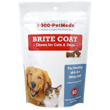 Buy Generic Brite Coat Chews for Cats & Dogs 60 ct at PetMeds