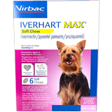 Iverhart Max Chewable Tablets For Dogs 6-12lbs 6pk