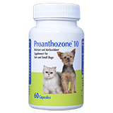 Proanthozone 10mg 60ct For Small Dogs & Cats
