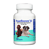 Proanthozone Antioxidant 50mg 120ct For Large Dogs