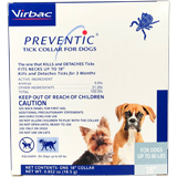 "Preventic Amitraz Tick Collar 18"" For Dogs Up To 60lbs"
