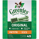 Greenies Dental Treats for Dogs (Click for Larger Image)