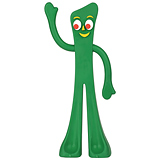Gumby Dog Toy (Click for Larger Image)