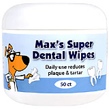 Buy Generic Max's Super Dental Wipes 50 ct at PetMeds