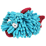 "Sea Shammies Plush Dog Toy 6"" Blowfish"