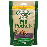 Greenies Pill Pockets Duck & Pea For Dogs (hides tablets) 25 ct2.6oz