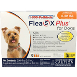 Buy Generic Flea5X Plus - Generic to Frontline Plus 3pk Dogs 6-22 lbs at PetMeds
