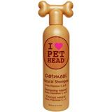 Pet Head Oatmeal Natural Shampoo for Pets