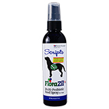 Scripts FloraZil + Multi-Probiotic Food Spray for Dogs