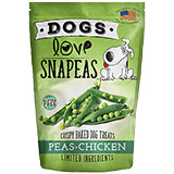Dogs Love Snapeas Crispy Baked Dog Treats