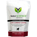 VetriScience Vetri Cardio Canine Bite Sized Chews for Dogs