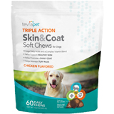 TevraPet Triple Action Skin & Coat Soft Chews