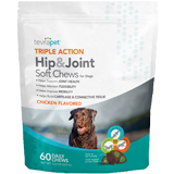 TevraPet Triple Action Hip & Joint Soft Chews