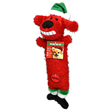 Multipet Loofa Holiday Dog Toys
