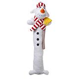 Multipet Loofa Holiday Dog Toys Snowman 12  LOOFA SNOWMAN 12