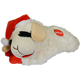 Multipet Lamb Chop Holiday Dog Toy