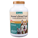 NaturVet Brewer's Dried Yeast with Garlic