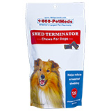 Buy Generic Shed Terminator Chews For Dogs 120 ct at PetMeds